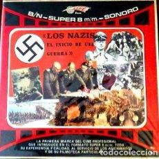 Cine: PELICULA SUPER 8 - LOS NAZIS, EL INICIO DE UNA GUERRA – 4 CARRETES – COLECCIÓN COMPLETA. Lote 117351846