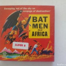 Cine: PELÍCULA BAT MEN OF AFRICA EN SÚPER 8. Lote 99872790