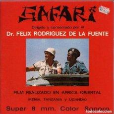 Cine: SAFARI DR, FÉLIX RODRIGUES DE LA FUENTE. Lote 100015211