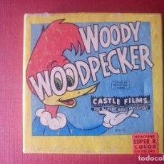 Cine: PELICULA WOODY WOODPECKER EL PAJARO LOCO HEADLINE SUPER 8 COLOR. Lote 101146727