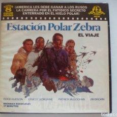 Cine: PELÍCULA DE SUPER 8 ESTACIÓN POLAR ZEBRA. Lote 101763959