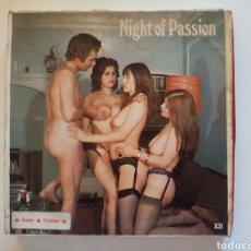 Cine: PELÍCULA ERÓTICA NIGHT OF PASSION. Lote 101765271