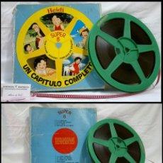 Cine: HEIDI Nº 1 .- A LA MONTAÑA .- SUPER 8 FILM COLOR SONORO ,CAPITULO COMPLETO. EDICIÓN ESPAÑA 1.970-80. Lote 103166459