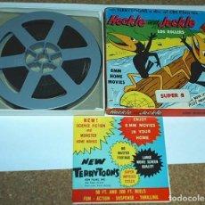 Cine: HECKLE AND JECKLE LOG ROLLER 209,ANTIGUA EN MUY BUEN ESTADO- ADEMAS CONSERVA EL CATALOGO ¡¡. Lote 104501539