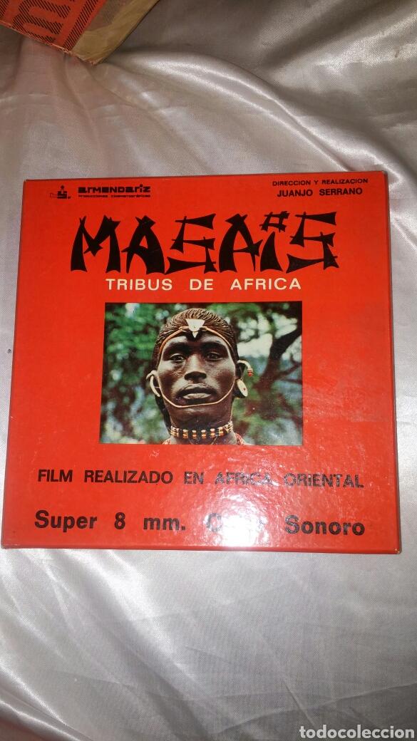 MASAIS TRIBUS DE AFRICA SUPER 8 (Cine - Películas - Super 8 mm)