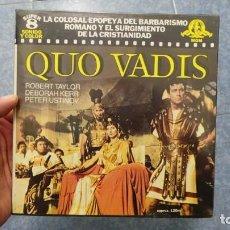 Cine: QUO VADIS-REDUCCIÓN-PELÍCULA SUPER 8 MM-RETRO VINTAGE FILM. Lote 105054415