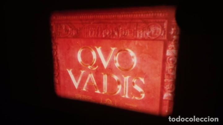 Cine: QUO VADIS-REDUCCIÓN-PELÍCULA SUPER 8 MM-RETRO VINTAGE FILM - Foto 4 - 105054415