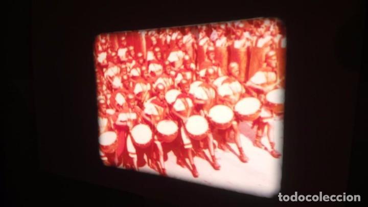 Cine: QUO VADIS-REDUCCIÓN-PELÍCULA SUPER 8 MM-RETRO VINTAGE FILM - Foto 10 - 105054415