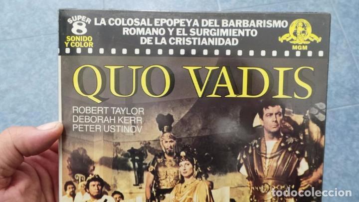 Cine: QUO VADIS-REDUCCIÓN-PELÍCULA SUPER 8 MM-RETRO VINTAGE FILM - Foto 14 - 105054415