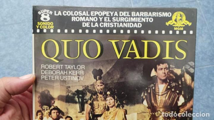 Cine: QUO VADIS-REDUCCIÓN-PELÍCULA SUPER 8 MM-RETRO VINTAGE FILM - Foto 15 - 105054415