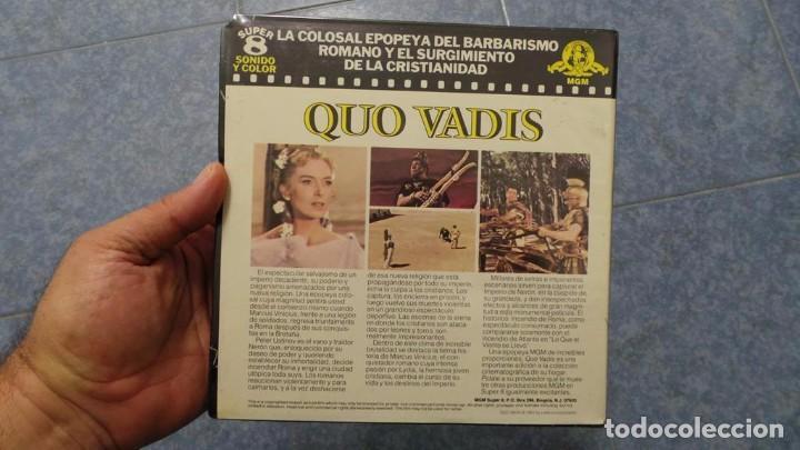 Cine: QUO VADIS-REDUCCIÓN-PELÍCULA SUPER 8 MM-RETRO VINTAGE FILM - Foto 17 - 105054415