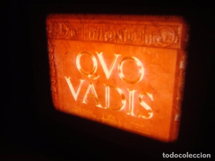 Cine: QUO VADIS-REDUCCIÓN-PELÍCULA SUPER 8 MM-RETRO VINTAGE FILM - Foto 27 - 105054415