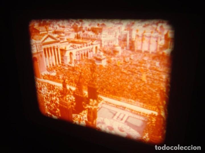 Cine: QUO VADIS-REDUCCIÓN-PELÍCULA SUPER 8 MM-RETRO VINTAGE FILM - Foto 33 - 105054415