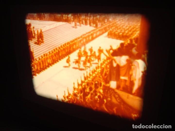 Cine: QUO VADIS-REDUCCIÓN-PELÍCULA SUPER 8 MM-RETRO VINTAGE FILM - Foto 35 - 105054415