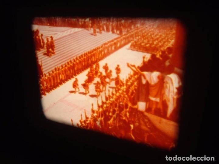 Cine: QUO VADIS-REDUCCIÓN-PELÍCULA SUPER 8 MM-RETRO VINTAGE FILM - Foto 36 - 105054415