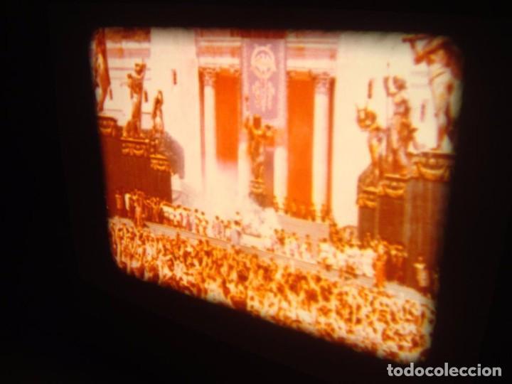 Cine: QUO VADIS-REDUCCIÓN-PELÍCULA SUPER 8 MM-RETRO VINTAGE FILM - Foto 43 - 105054415