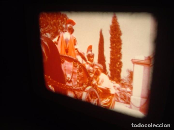Cine: QUO VADIS-REDUCCIÓN-PELÍCULA SUPER 8 MM-RETRO VINTAGE FILM - Foto 44 - 105054415
