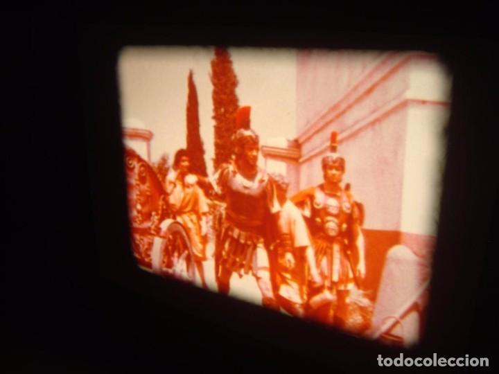Cine: QUO VADIS-REDUCCIÓN-PELÍCULA SUPER 8 MM-RETRO VINTAGE FILM - Foto 45 - 105054415