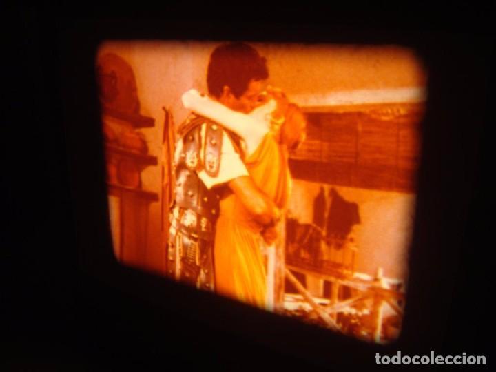 Cine: QUO VADIS-REDUCCIÓN-PELÍCULA SUPER 8 MM-RETRO VINTAGE FILM - Foto 46 - 105054415