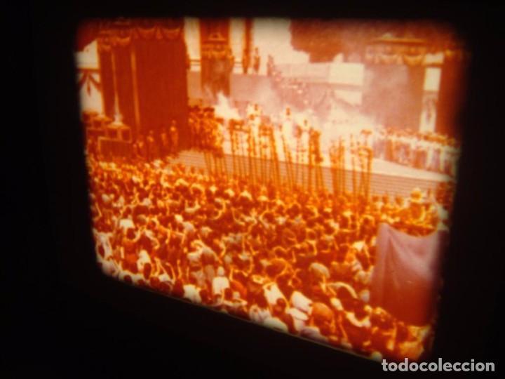 Cine: QUO VADIS-REDUCCIÓN-PELÍCULA SUPER 8 MM-RETRO VINTAGE FILM - Foto 49 - 105054415