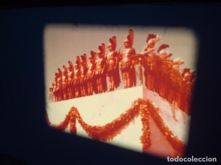 Cine: QUO VADIS-REDUCCIÓN-PELÍCULA SUPER 8 MM-RETRO VINTAGE FILM - Foto 59 - 105054415