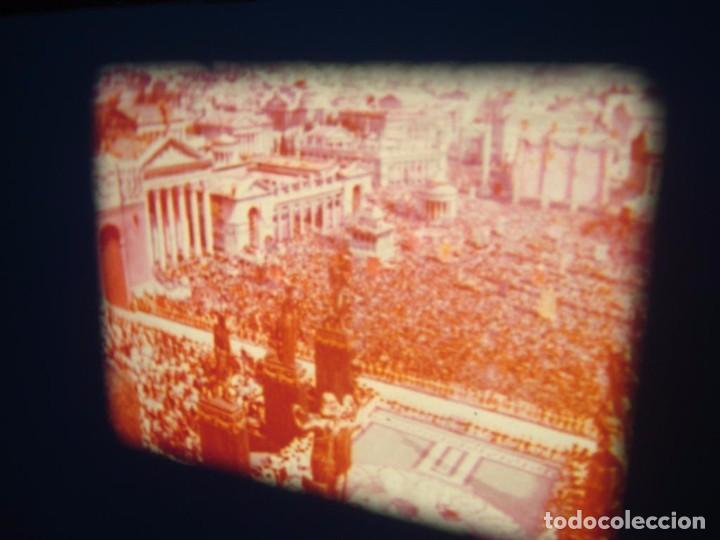 Cine: QUO VADIS-REDUCCIÓN-PELÍCULA SUPER 8 MM-RETRO VINTAGE FILM - Foto 60 - 105054415