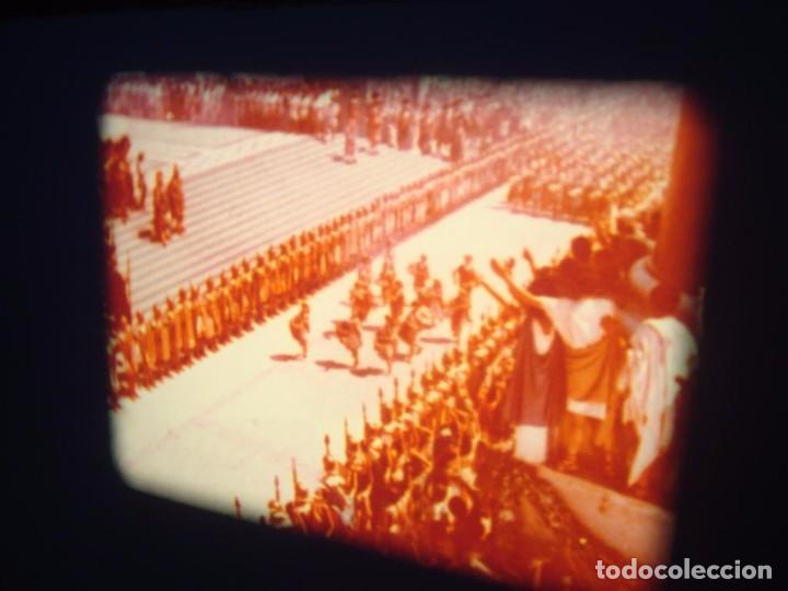 Cine: QUO VADIS-REDUCCIÓN-PELÍCULA SUPER 8 MM-RETRO VINTAGE FILM - Foto 61 - 105054415