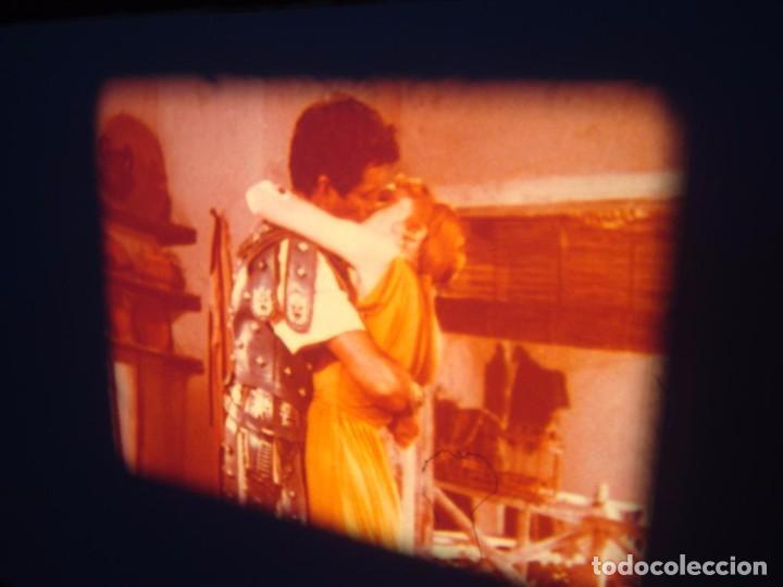 Cine: QUO VADIS-REDUCCIÓN-PELÍCULA SUPER 8 MM-RETRO VINTAGE FILM - Foto 66 - 105054415