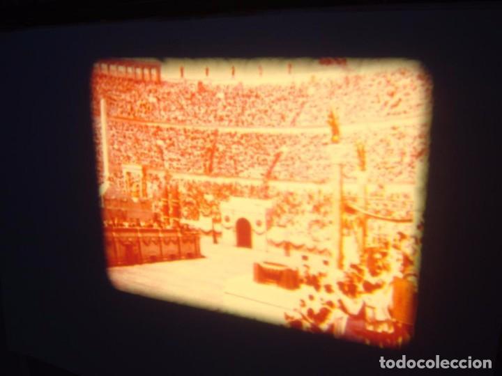Cine: QUO VADIS-REDUCCIÓN-PELÍCULA SUPER 8 MM-RETRO VINTAGE FILM - Foto 79 - 105054415
