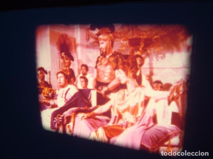 Cine: QUO VADIS-REDUCCIÓN-PELÍCULA SUPER 8 MM-RETRO VINTAGE FILM - Foto 80 - 105054415