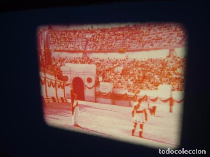 Cine: QUO VADIS-REDUCCIÓN-PELÍCULA SUPER 8 MM-RETRO VINTAGE FILM - Foto 81 - 105054415