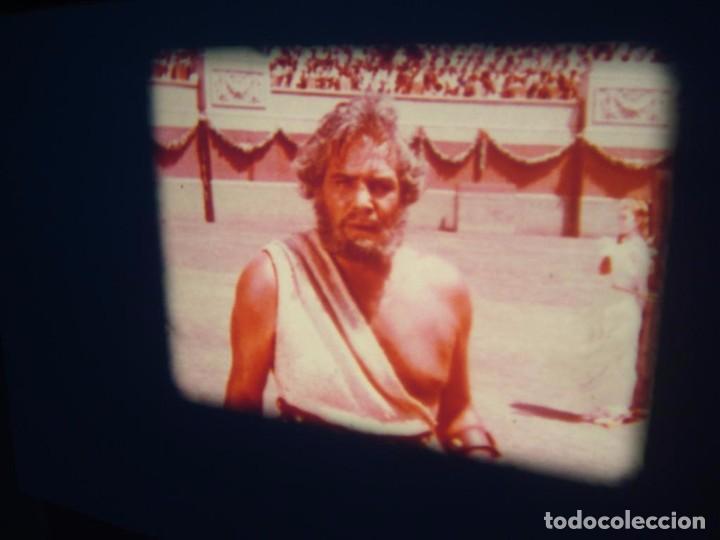 Cine: QUO VADIS-REDUCCIÓN-PELÍCULA SUPER 8 MM-RETRO VINTAGE FILM - Foto 82 - 105054415