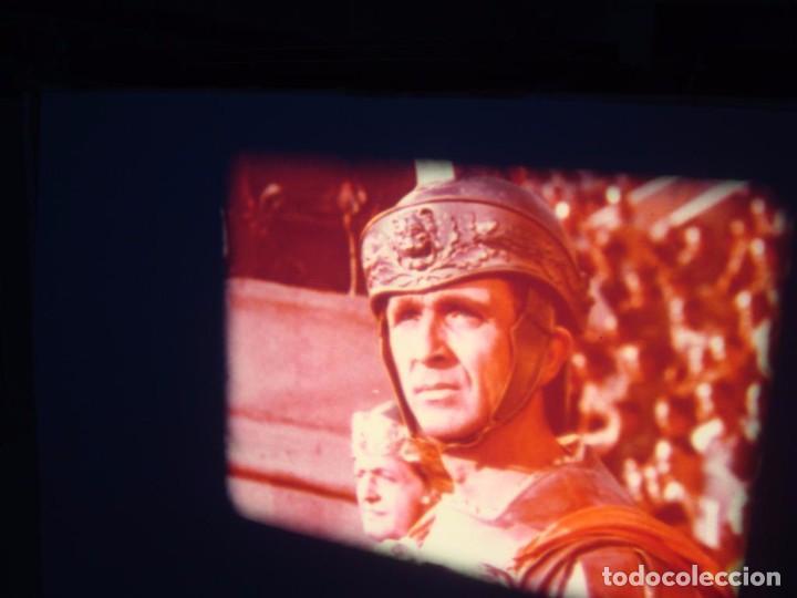 Cine: QUO VADIS-REDUCCIÓN-PELÍCULA SUPER 8 MM-RETRO VINTAGE FILM - Foto 84 - 105054415