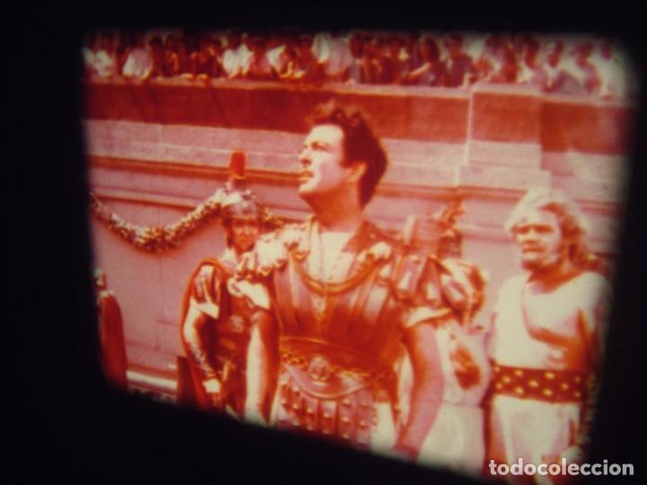 Cine: QUO VADIS-REDUCCIÓN-PELÍCULA SUPER 8 MM-RETRO VINTAGE FILM - Foto 85 - 105054415