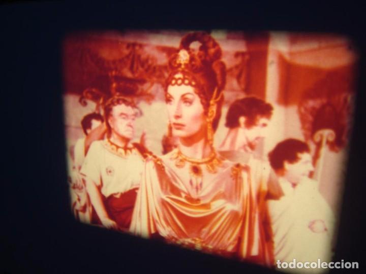 Cine: QUO VADIS-REDUCCIÓN-PELÍCULA SUPER 8 MM-RETRO VINTAGE FILM - Foto 86 - 105054415