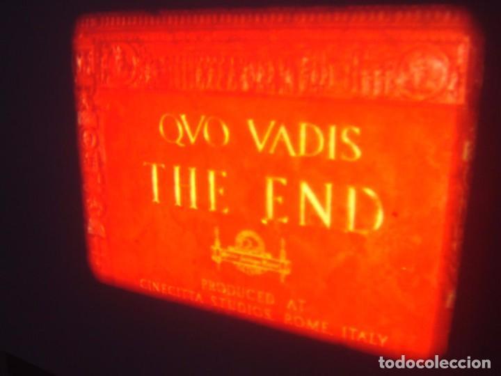 Cine: QUO VADIS-REDUCCIÓN-PELÍCULA SUPER 8 MM-RETRO VINTAGE FILM - Foto 87 - 105054415