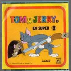 Cine: SUPER 8 ++ TOM Y JERRY. FANTASIAS RATONESCAS ++ 60METROS. Lote 158817973