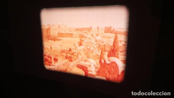 Cine: LA TÚNICA SAGRADA-PELICULA SUPER 8MM RETRO VINTAGE FILM - Foto 10 - 106959227