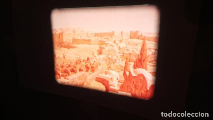 Cine: LA TÚNICA SAGRADA-PELICULA SUPER 8MM RETRO VINTAGE FILM - Foto 11 - 106959227