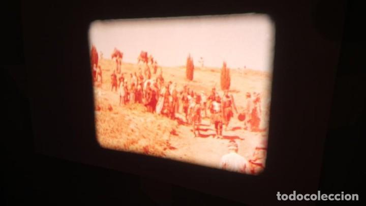 Cine: LA TÚNICA SAGRADA-PELICULA SUPER 8MM RETRO VINTAGE FILM - Foto 13 - 106959227