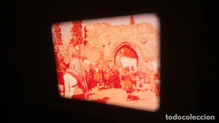 Cine: LA TÚNICA SAGRADA-PELICULA SUPER 8MM RETRO VINTAGE FILM - Foto 19 - 106959227