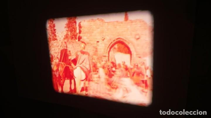 Cine: LA TÚNICA SAGRADA-PELICULA SUPER 8MM RETRO VINTAGE FILM - Foto 20 - 106959227