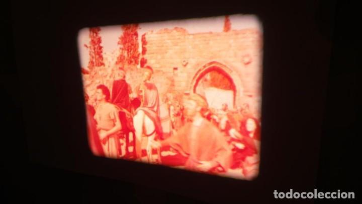 Cine: LA TÚNICA SAGRADA-PELICULA SUPER 8MM RETRO VINTAGE FILM - Foto 21 - 106959227
