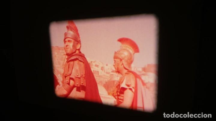 Cine: LA TÚNICA SAGRADA-PELICULA SUPER 8MM RETRO VINTAGE FILM - Foto 22 - 106959227