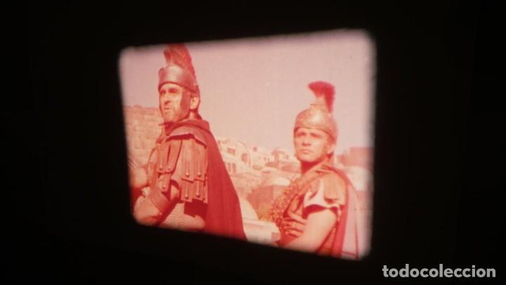 Cine: LA TÚNICA SAGRADA-PELICULA SUPER 8MM RETRO VINTAGE FILM - Foto 23 - 106959227