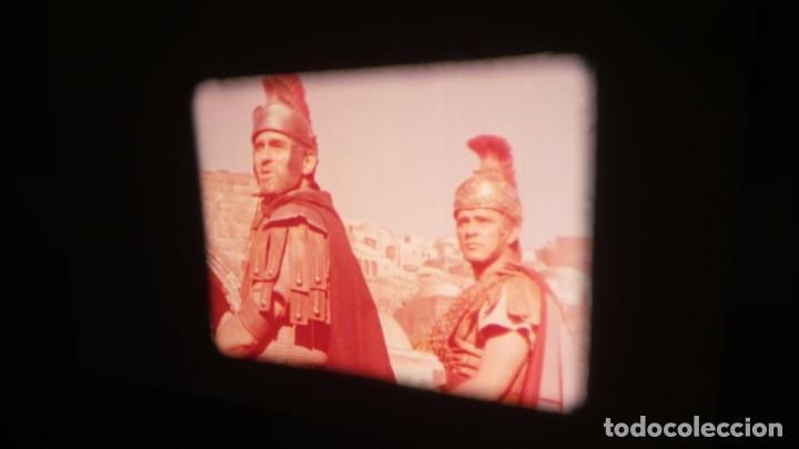 Cine: LA TÚNICA SAGRADA-PELICULA SUPER 8MM RETRO VINTAGE FILM - Foto 24 - 106959227