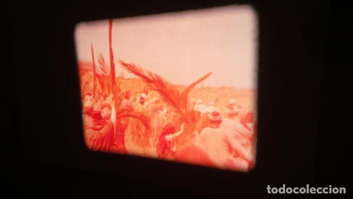 Cine: LA TÚNICA SAGRADA-PELICULA SUPER 8MM RETRO VINTAGE FILM - Foto 27 - 106959227
