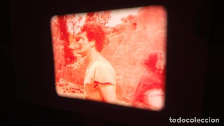 Cine: LA TÚNICA SAGRADA-PELICULA SUPER 8MM RETRO VINTAGE FILM - Foto 29 - 106959227