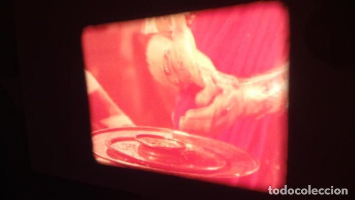 Cine: LA TÚNICA SAGRADA-PELICULA SUPER 8MM RETRO VINTAGE FILM - Foto 32 - 106959227