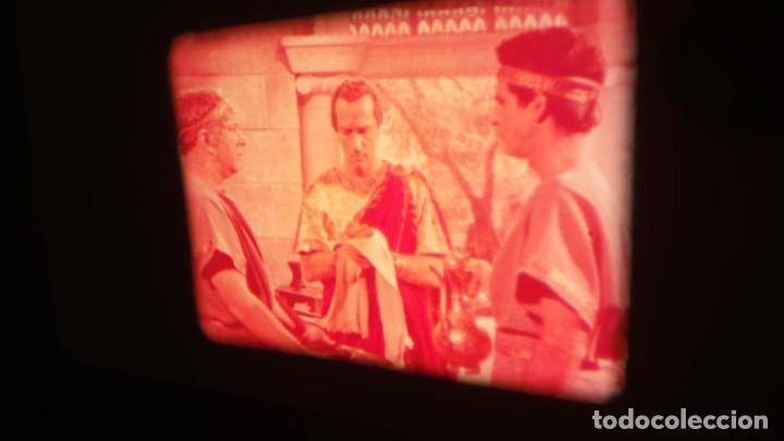 Cine: LA TÚNICA SAGRADA-PELICULA SUPER 8MM RETRO VINTAGE FILM - Foto 33 - 106959227